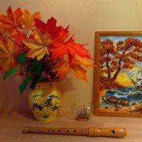 Янтарная рапсодия для флейты :: Nina Yudicheva