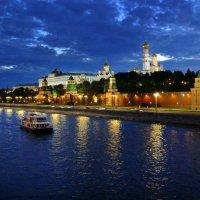 Москва-река. :: Александр Бабаев