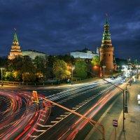 / Вечерние огни столицы... / :: Юрий Морозов