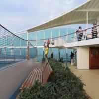 И в настольный теннис можно играть на корабле! :: Natalia Harries