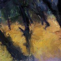 деревья за домом :: Николай Семёнов