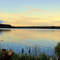 Вечером на озере :: Leonid Tabakov
