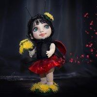 Кукла авторской работы. :: Лилия .