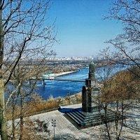 Голубой Днепр :: Владимир Бровко