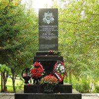 Памятник погибшим солдатам (Качалово, Старокачаловская улица, 8 к.1) :: Александр Качалин