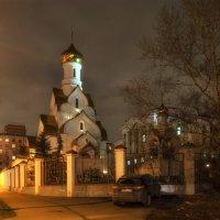 Церковь Александра Невского в Кожухово :: Александр Шурпаков