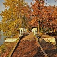 Мостик в Золотую осень... :: Sergey Gordoff