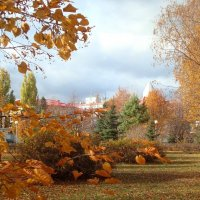 Осень в парке Тольятти :: Стас Борискин