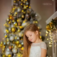 Новогодняя сказка Дарьи :: Кристина Беляева