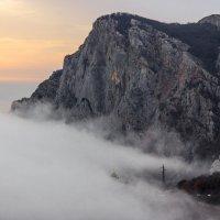 в облаках :: Sergey Bagach