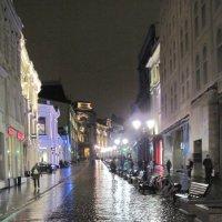 Ноябрьский вечер в Москве :: Маера Урусова