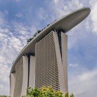 Отель Marina Bay Sands, Сингапур. :: Edward J.Berelet