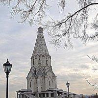 Начало ноября. Храм Вознесения Господня. :: Владимир Драгунский