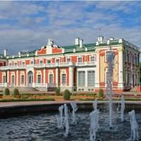 Екатерин.дворец в парке Кадриорг.Tallinn :: Татьяна Ивановна