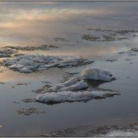 Ноябрьский лед на реке Онега. :: Марина Никулина