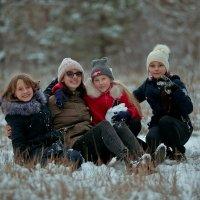Первый снег , радости нет предела .... :: Кристина Беляева