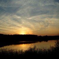 Saulėlydis Pelėdiškyje / Sunset in Pelėdiškis :: silvestras gaiziunas