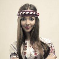 ФотоГламурный портрет с колоритом современной эстетики. :: krivitskiy Кривицкий