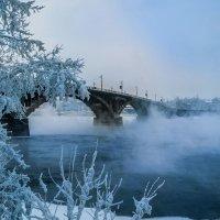 Мороз на Ангаре :: Владимир Гришин
