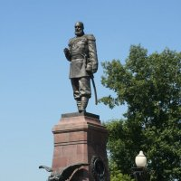 Иркутск. Памятник Александру III :: Димончик