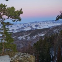 Вид с горы Колокольня Чарышский район :: Кристина Воробьева