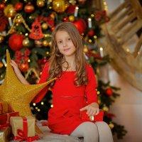Новогодняя сказка Настюши :: Кристина Беляева