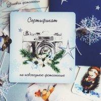 Подарочный сертификат на новогоднюю фотосессию. :: Юлия