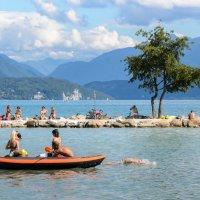 Озеро в Анси :: Наталия