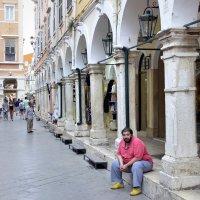 Спокойствие на улицах Керкиры. :: Николай Ярёменко