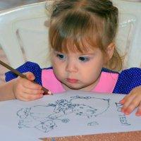 я тебя рисую :: леонид логинов