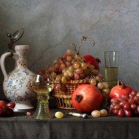 С белым  вином и красными фруктами :: Елена Татульян