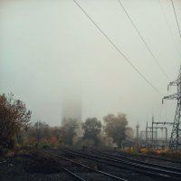 Туман накрыл город. :: Daniel Surov