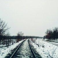 Рельсы. :: Daniel Surov