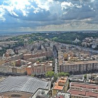 Над крышами  Рима ! :: Виталий Селиванов