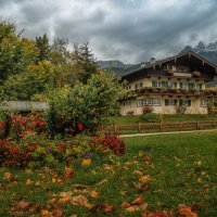 Октябрь в Баварских Альпах :: Владимир Колесников