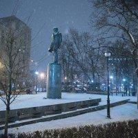 Москва, Новая Басманная улица. Снегопад. :: Игорь Герман