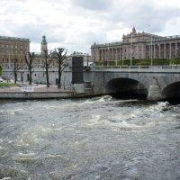 Стокгольм.  Мост Норбру :: Елена Павлова (Смолова)