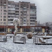 снег в городе :: юрий иванов