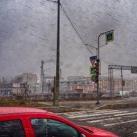 Питер Обводный канал мокрый снег :: Юрий Плеханов