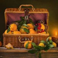 Мандарины в чемоданчике :: Светлана Л.