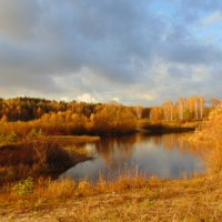 Осенний пейзаж. :: Людмила Ларина