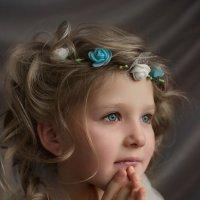 Девочка с голубыми глазами :: Татьяна Скородумова