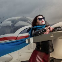 Таня и самолет :: Вячеслав Шах-Гусейнов