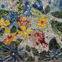 Мозаичный дворик. Фасад здания :: Елена Павлова (Смолова)
