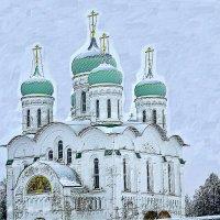 Белокаменная. :: Михаил Столяров