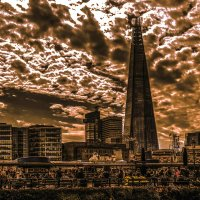 Небоскрёб Shard Bridge (Осколок) в Лондоне :: Александр Липовецкий