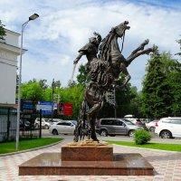 Памятник Ермаку :: Милешкин Владимир Алексеевич