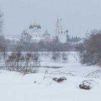 Снегопад в Коломне :: Александра