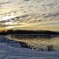 там ,где Дудергофский канал впадает в залив :: Елена