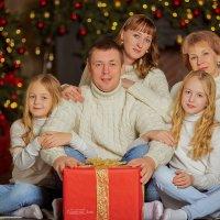 Новогодняя сказка замечательной семьи :: Кристина Беляева